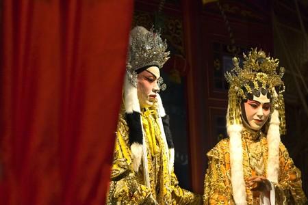 chinese opera: chinese opera dummy  Stock Photo