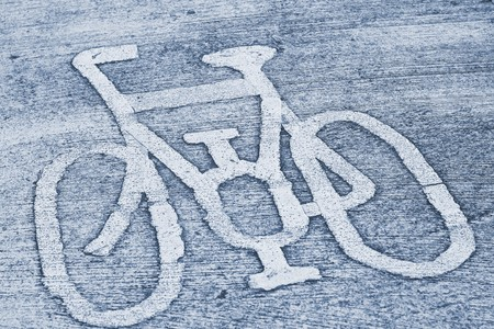 Bicycle road sign. Stock Photo - 7547491