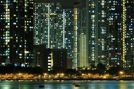 Hong Kong public housing apartment block  Stock Photo - 8937036