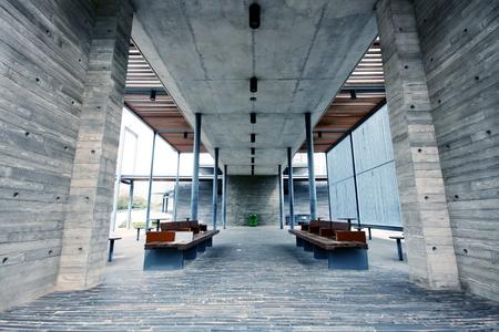 vestibulos: Presidente y moderno edificio interior