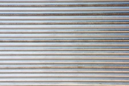 garage métal usés porte gate store rouleau obturateur  Banque d'images