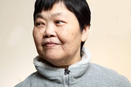 60s Senior Asian Woman  photo