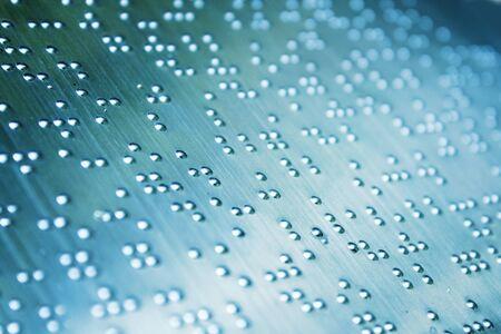 braille: Plain Braille p�gina Macro, foucs en el centro