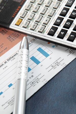 Financial concept: analyzing. Stock Photo - 10410586
