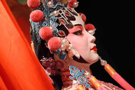 chinese opera: chinese opera dummy  Stock Photo