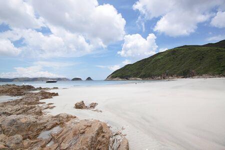 wan: beach in Hong Kong at day