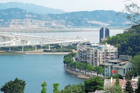 dwell house: Macau cityscape Stock Photo