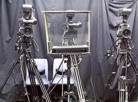 camera in studio photo