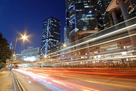 night traffic: traffic night Stock Photo