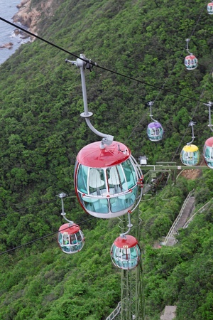 Hong Kong Cable Car photo