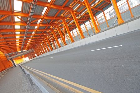 Inter of urban tunnel without traffic Stock Photo - 10944704