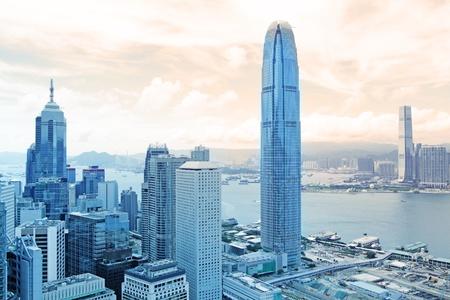 Hong Kong skylines  Stock Photo - 10944682