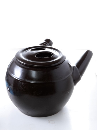 tradition medication claypot in china photo