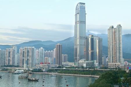 skylines: skylines of urban area at daytime