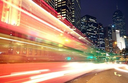 expressway: Traffic speed at night