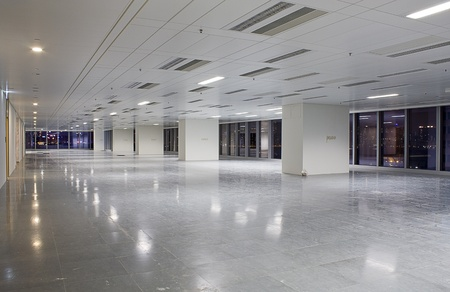 modern hall in building  Editorial