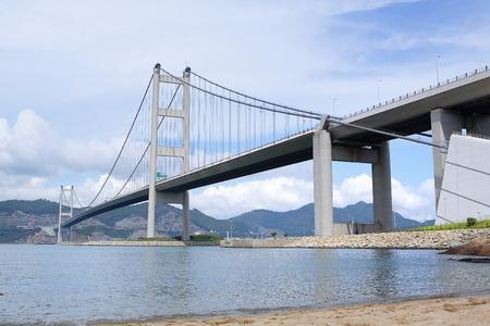 ma: Tsing Ma Bridge at day