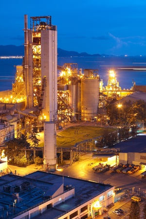to plant structure: Cement Plant,Concrete or cement factory, heavy industry or construction industry.