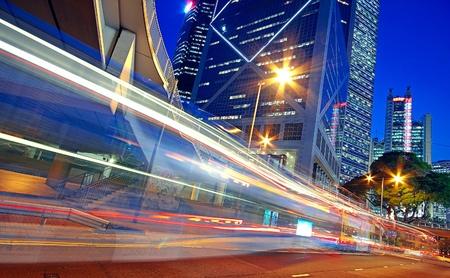 screen print: traffic night Editorial