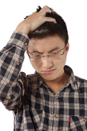 young thinking man Stock Photo - 12748454