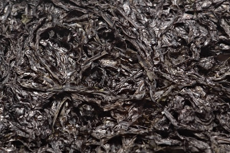 commonly: One type of dried seaweed commonly used for salads and soups.