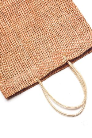 Wicker bamboo handbag  photo