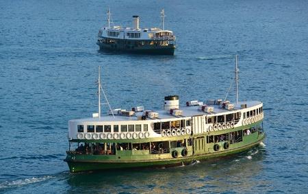 ferries: Hong Kong ferry Stock Photo