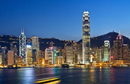 Hong Kong moderne Stadt