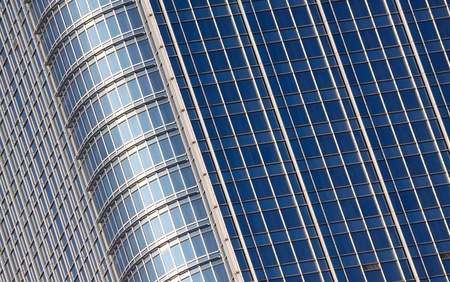 Seamless illustration resembling illuminated windows in a tall building illustration