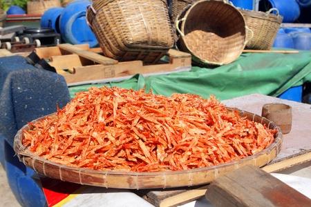 Dry seafood. Tai O fish market. Hong Kong. Stock Photo - 16298378