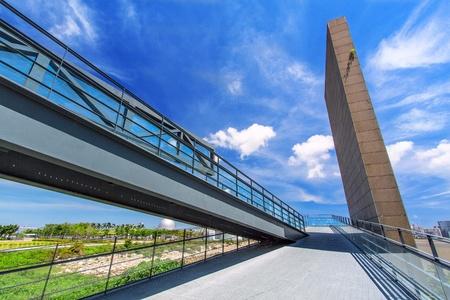 pedestrian: Pedestrian Footbridge