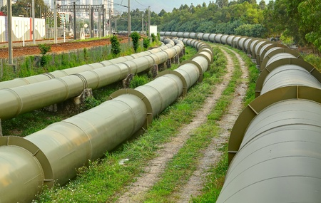 gas pipeline: Oil and Gas Industry at outdoor at day