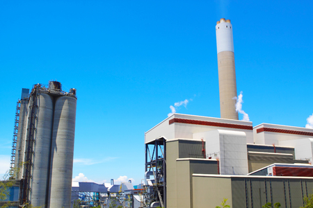 coal fired: coal fired power station