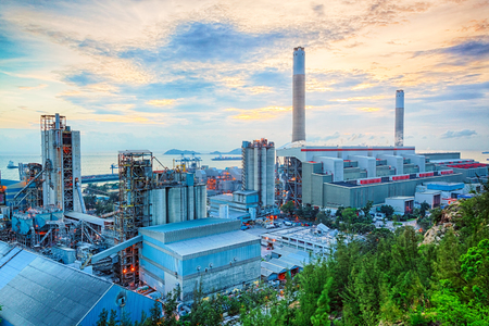 storage tank: Gas storage spheres tank in petrochemical plant