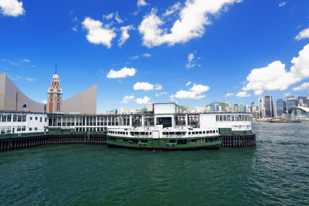 Victoria Harbor of Hong Kong  photo