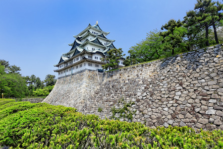 fish head: Nagoya castle atop with golden tiger fish head pair called King Cha Chi, Japan