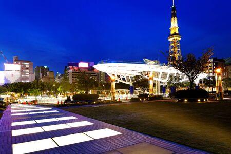 chubu: Nagoya, Japan skyline at Nagoya Tower.