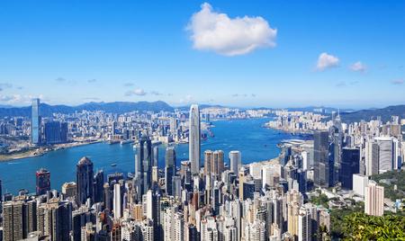 홍콩 도시 스톡 콘텐츠
