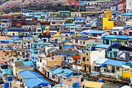 Gamcheon Culture Village, Busan, South Korea. photo
