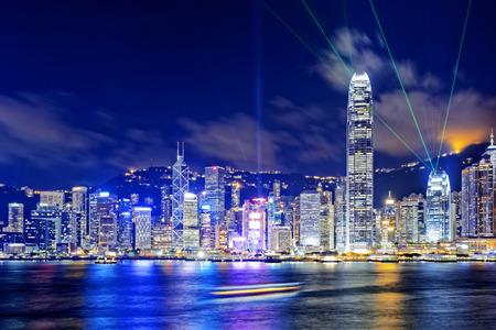 edificios de oficinas en Hong Kong en la zona de las finanzas