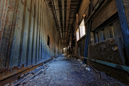 abandoned factory: doomsday destruction ruins factory damage