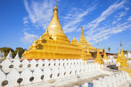 Sandamuni Paya pagoda in Mandalay Burma Myanmar Stock Photo - 76712114