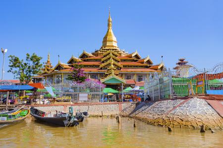Phaung Daw Oo 탑, Inle 호수, 미얀마