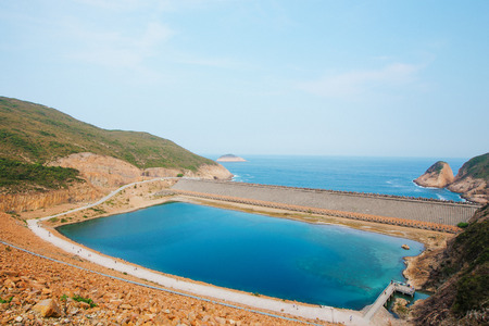 Hong Kong High Island Reservoir at daytime