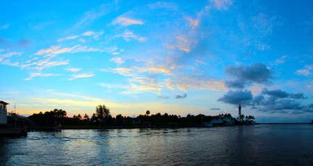 Sunrise over Lighthouse Point Florida photo