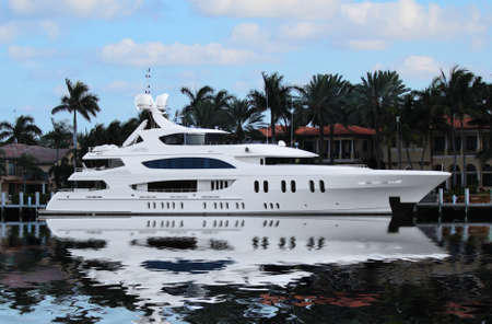 Luxury Yacht in Fort Lauderdale, Florida photo