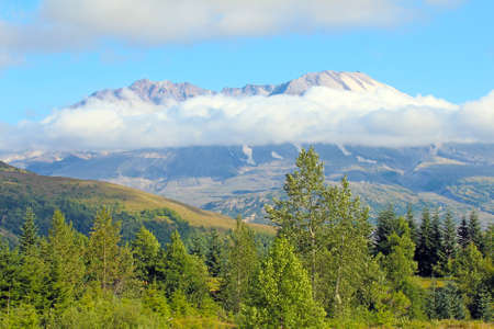helens: view of mount st helens