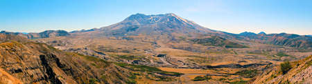 helens: Panoramic view of Mt St Helens