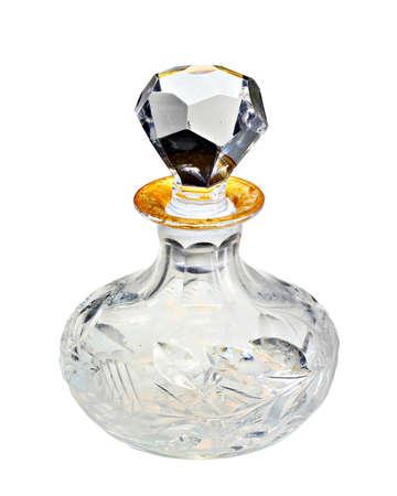 A classic vintage perfume bottle