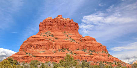 A view of Bell Rock in Sedona, Arizona, USA photo